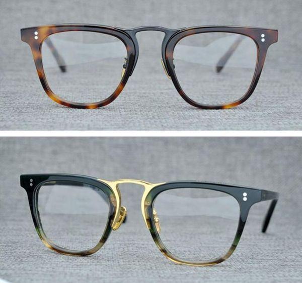 Occhiali da vista da uomo Montatura da vista Montatura da vista Occhiali da vista per montature da vista di marca Occhiali da vista con montatura in miopia