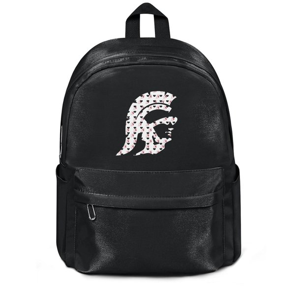 Package,backpack USC Trojans football basketball logo Heart black fashion Classicpackage daily sports schoolbackpack