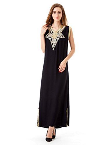 Мусульманское платье Abaya Caftan Dubai для женщин Исламская одежда Районное платье Jalabiyas