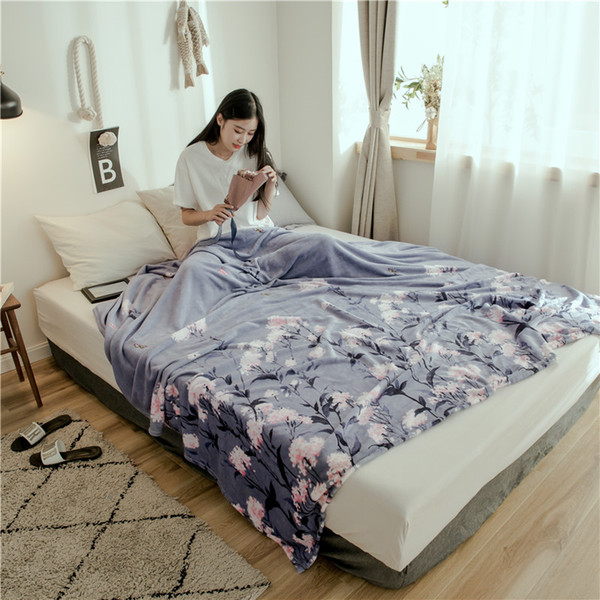 home textile High Density fleece blanket for sofa winter decorations for home throw blanket for bed warm soft blanket