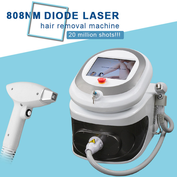 Máquina de depilación súper por láser de depilación láser de diodo 808nm con láser diodo frío 808 nm