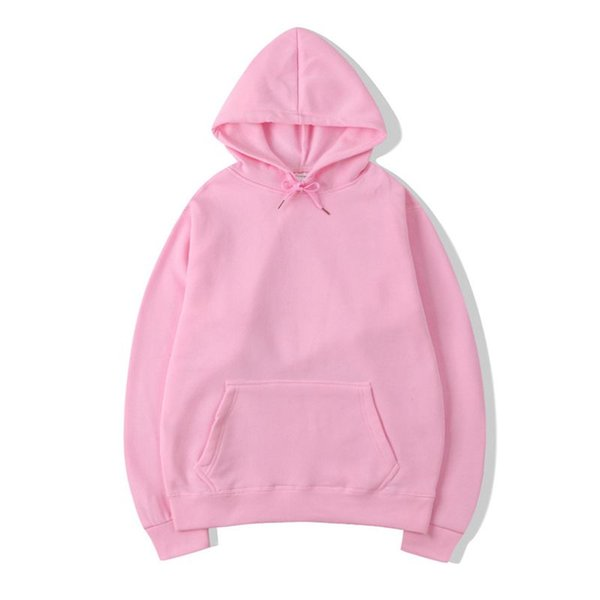 2019 Nuevo Casual rosa negro gris azul HOODIE Hip Hop Street wear Sudaderas Skateboard Hombre / Mujer Sudaderas con capucha Sudadera con capucha Hombre