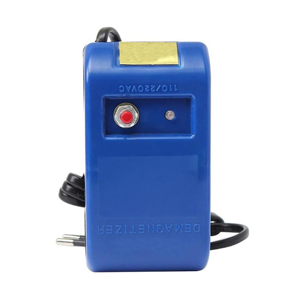 EU Plug Watch Demagnetizer Watch Repair Screwdriver Tweezers Electrical Professional Demagnetize Tool for Watchmaker
