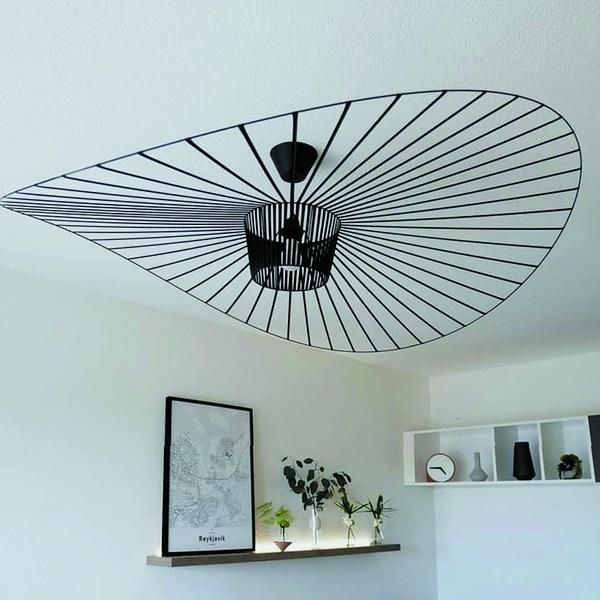 Moderne schwindel pendelleuchte / suspension E27 pendelleuchte für restaurant / schlafzimmer / wohnzimmer hut pendelleuchten dekoratives licht