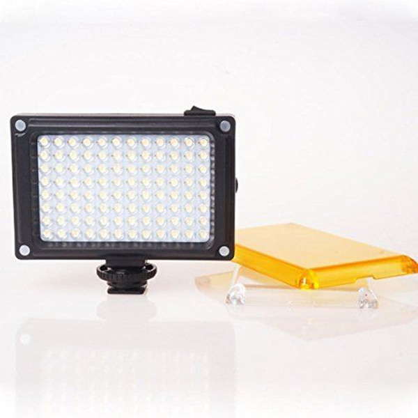 96 LED de vídeo luz de vídeo foto iluminação na câmera hot shoe lâmpada led para iphone xs max x 8 filmadora canon nikon dslr