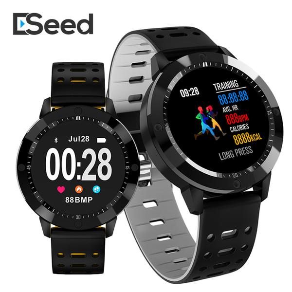 eSeed ES01 Reloj pulsera inteligente IP67 a prueba de agua Vidrio templado Actividad Fitness tracker Monitor de frecuencia cardíaca Sports pk fitbit id115 plus