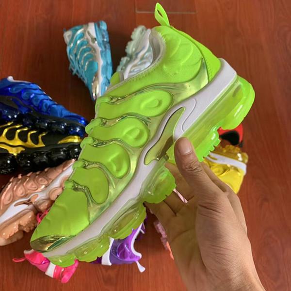 Livraison Gratuite 2019 Chaussures De Tennis Baskets TN Plus Respirant Cusion Desingers Casual Chaussures De Plein Air Nouvelle Arrivée Couleur US5.5-11 EUR40-45