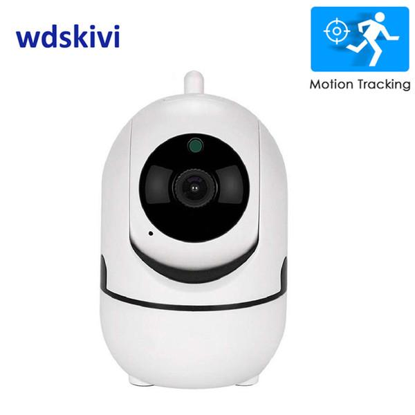 Wdskivi Auto Track 1080p IP Kamera Überwachung Sicherheitsmonitor Wifi Wireless Mini Smart Alarm Cctv Innenkamera Ycc365 Plus T190705