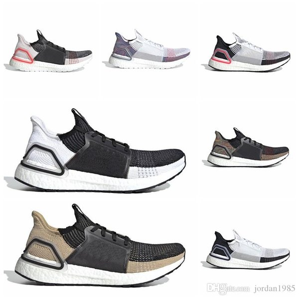 AAUA19A Ultra 19 para hombres, mujeres, zapatillas para correr UB 5.0 Laser Red Dark Pixel Core Black Refract Oreo Mens Trainer Sport Sneaker