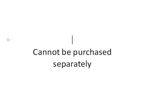 Regalo Non può essere acquistato separatamente