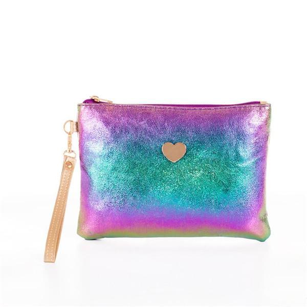 Miyahouse Vente chaude douce Design Sac Enveloppe en cuir pour les femmes Colorful Party Sacs à main d'embrayage de femmes Sac en cuir avec sangle