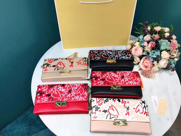 Womens Designer Umhängetasche Luxus-Kreuz-Körper Marke Schultertasche der Qualitäts-5 Muster B100686Z