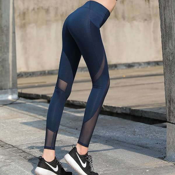 Heiße Frauen Yoga Hosen Sport Laufen Sportbekleidung Stretchy Fitness Leggings Nahtlose Bauch Kontrolle Gym Compression Strumpfhosen Hosen