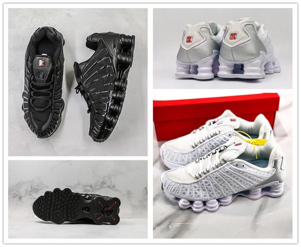 Avenue Deliver SHOXX TL NZ R4 Тройной Черный Белый Металлик дизайнер Серебряный Мужчины Женщины на открытом воздухе Спортивная обувь мужская тренер кроссовки с коробкой
