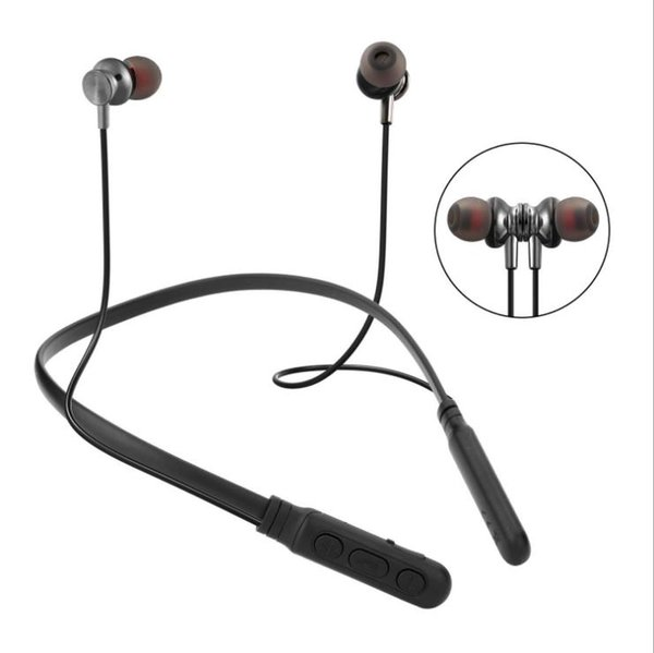 BT M8 Wireless Headphone Sport Bluetooth Earphone Neckband Magnetic Bass Headset Handfree Earbuds with Mic for Xiaomi Huawei