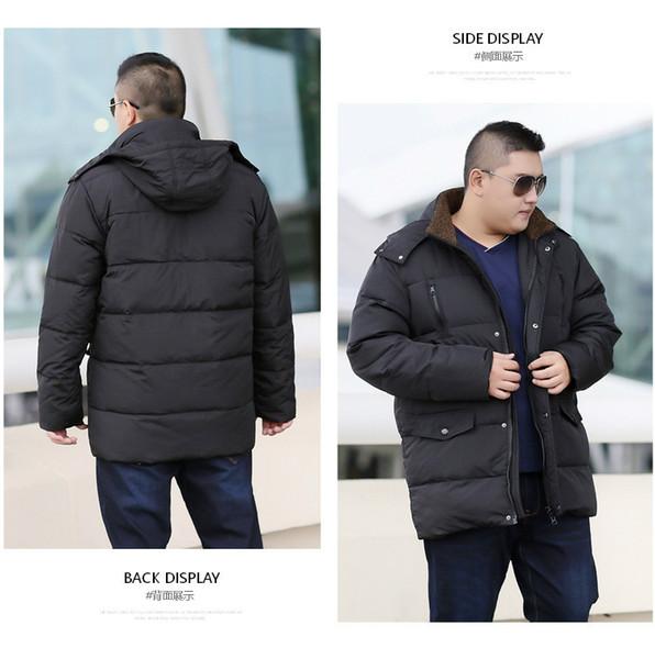 Großhandel 12XL 10XL 8XL 6XL 5XL Weiße Ente Dicke Daunenjacke Herren Mantel Schnee Parkas Herren Warme Markenkleidung Winter Daunenjacke