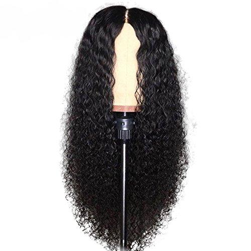 Slayedwig 150% Density water Wave Curly Brazilian Hair Full Lace Virgin Human Hair Wigs For Women With Baby Hair Pre-Plucked Lace Wigs