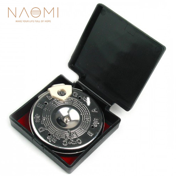 top popular NAOMI 13 Tone Note Key Chromatic C-C Pitch Pipe W  Case Guitar Tuner Tuning Bass High Quality New 2019