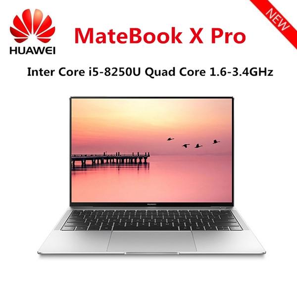 top popular Original HUAWEI MateBook X Pro Laptop Intel Core i5-8250U 8GB RAM 256GB SSD NVIDIA Geforce MX150 Touch Screen Windows 10 OS 2019