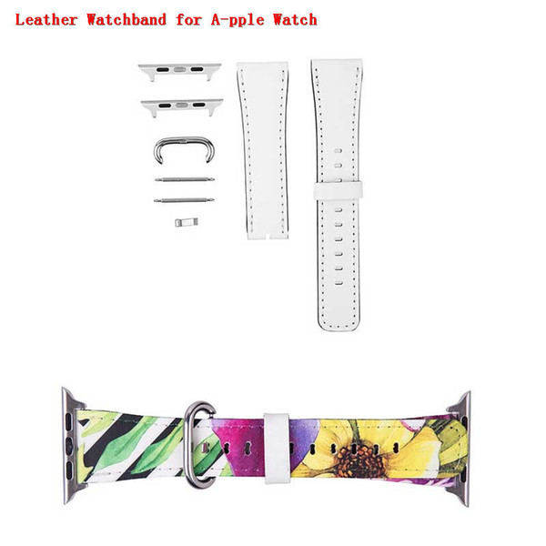 best selling sublimation leather blank Watch Bands for apple watch for iwatch band 42mm 38mm men women heart transfer printing DIY gift consumables