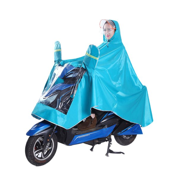 135x125x100cm Regenmantel Strapazierfähiges Oxford-Gewebe Wasserdicht Verdicken Regencape Regenmantel Poncho für Motorrad Elektrofahrrad Fahrrad