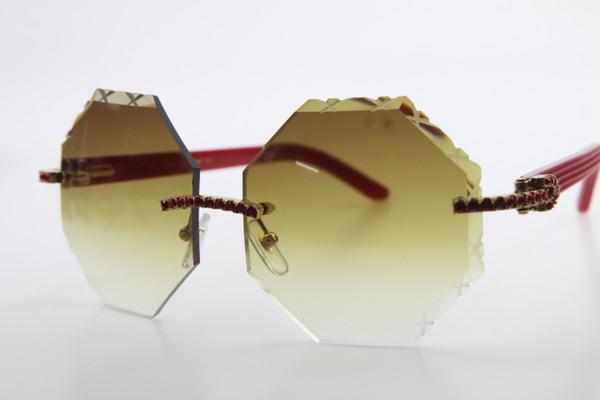 Gold Brown Lens