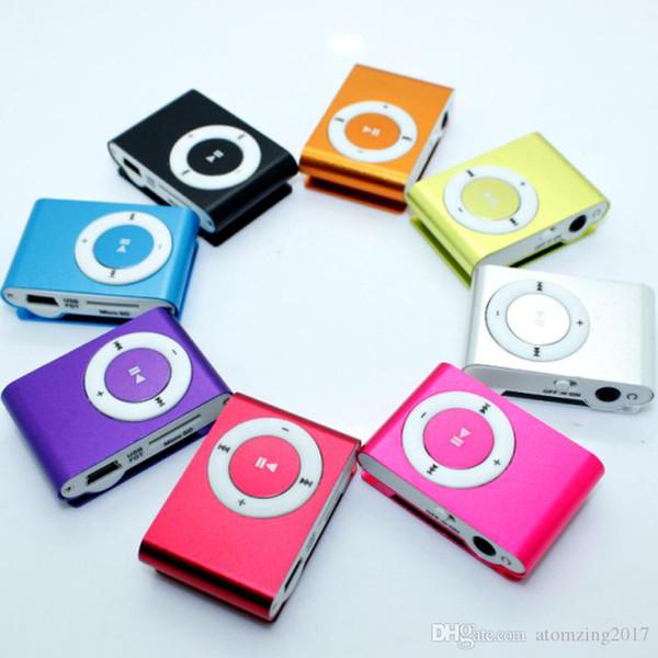 Mini Clip MP3 Player sans écran - Support Micro TF / Carte SD (1-16GB) 2015 Lecteurs MP3 MP3 sport de style sport pas cher