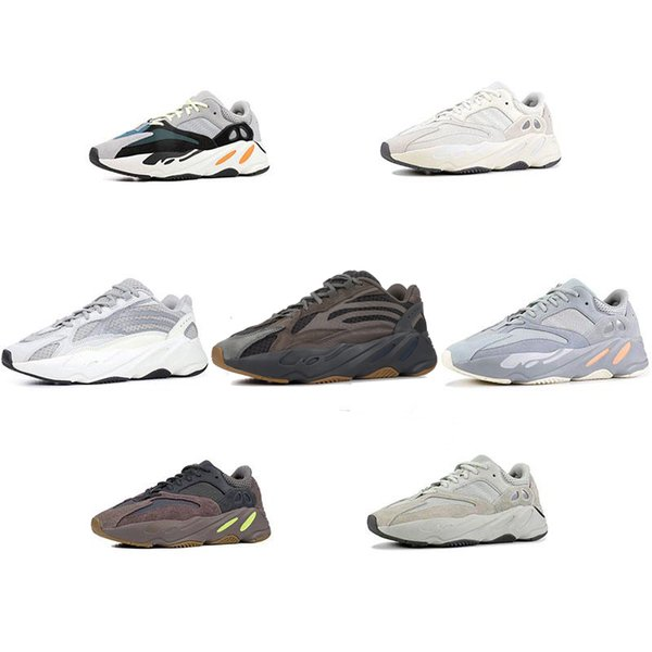 700 V2 Inertia Wave Runner Mens Women Designer Sneakers New Static Mauve Best Quality Kanye West Sport Shoes With Box 5-12