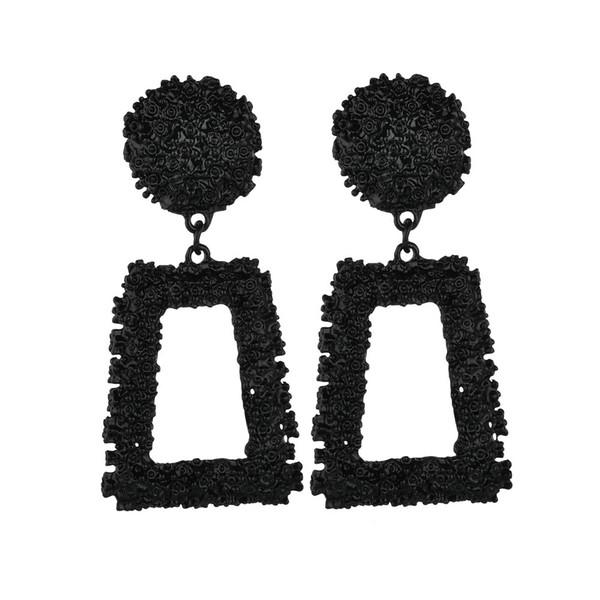 Best lady 2018 старинные кулон серьги стержня для женщин чешский геометрические серьги заявление рождественские подарки золотой цвет ювелирные изделия