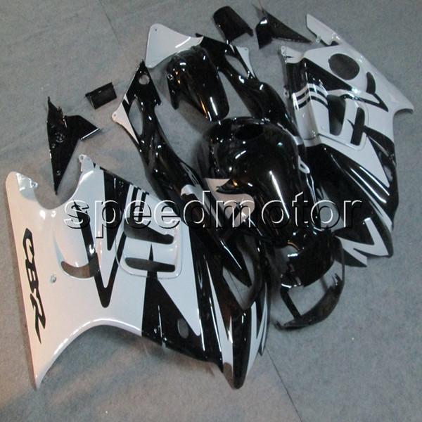 23colores + Tornillos Carenado de la motocicleta gris negro Carenado para HONDA CBR 600F3 97 98 CBR600 F3 1997 1998 Carenado del motor ABS