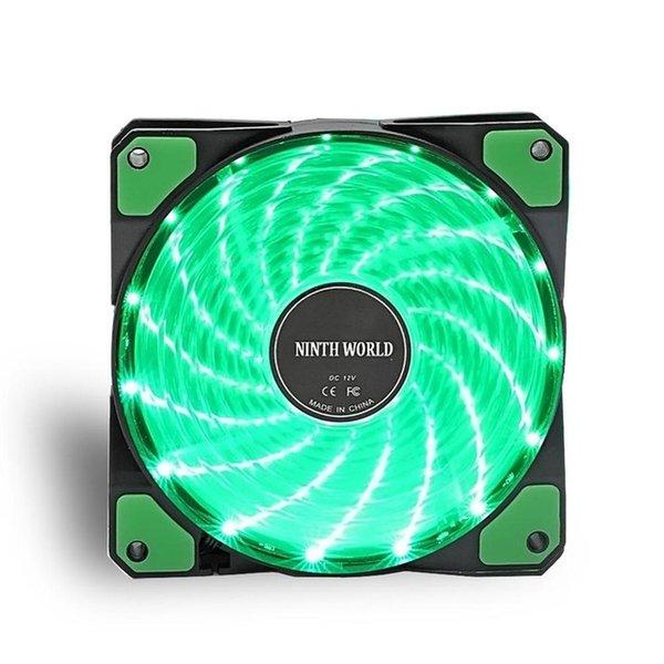 1 جهاز كمبيوتر شخصى مروحة الخضراء