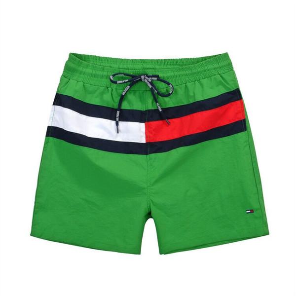 best selling 2018 New Board Shorts Mens Summer Beach Shorts Pants High-quality Swimwear Bermuda Male Letter Surf Life Men Swim Outdoor Shorts