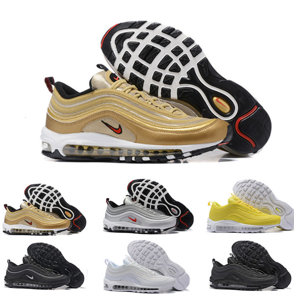 Nouvelle Chaussure Casual Nike Air Max 97 Homme NoirVert