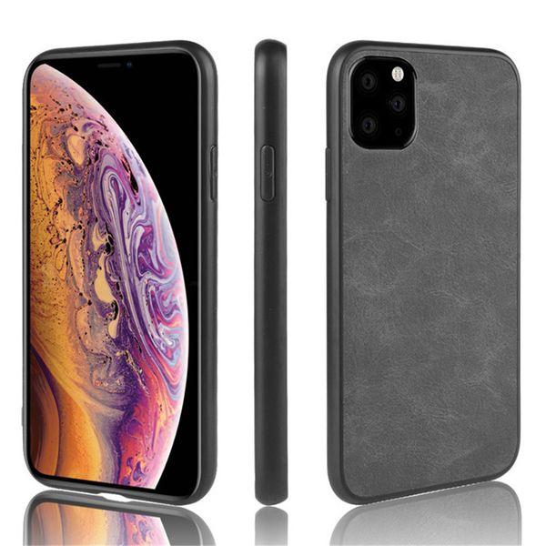 Для iPhone 11 Pro Case iPhone 11 Pro Max Luxury Кожа PU Жесткий задняя обложка чехол для Apple iPhone 11Pro Max iPhone11 телефон дела