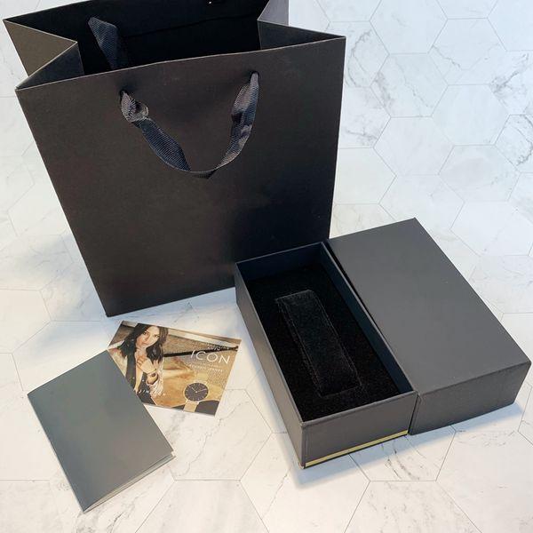 I più venduti di alta qualità Prezzo basso di fabbrica Fornitore di lusso Box Woodenpaper Watch Box di carte Scatole di carta Custodie da polso Box con borse