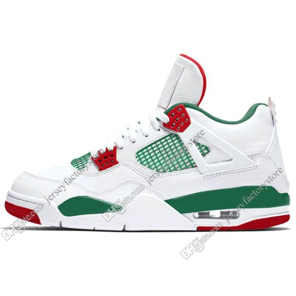 #15 White Green Red