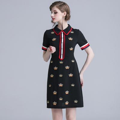 Designer de moda outono runway gancho de crochê flor lace oco out casual party dress mini feminino vestido