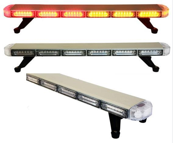 Free Shipping high quality slim vehicle strobe lightbar car flash strobe lightbar roof top mount led light bar heavy duty strobe lightbar