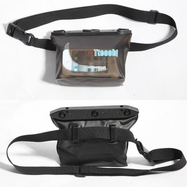 Fashion Pvc Waterproof Waist Packs Pocket Bag For Surfing Swimming Snorkeling Rafting Skiing Travel Running Waist Pack Pouch Bag