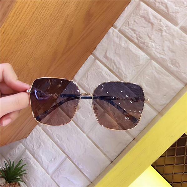 Sıcak lüks tasarımcı marka boy sunglass kadın güneş gözlüğü çift uv box-wx ile polarize gözlük yüksek kalite Moda Aksesuarla ...