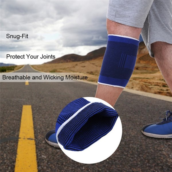 High Quality Knee Pads Support Leg Arthritis Injury Sleeve Elasticated Bandage Elbow Pad Kneepads outdoor sport protection tool #71250