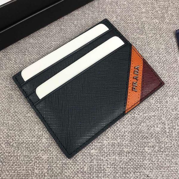 201 meilleure lettre de qualité véritables hommes en cuir court porte-monnaie avec la boîte fourre-tout Porte-Monnaie Porte-cartes clé classique femmes coinwallet 2MC223 8.10cm