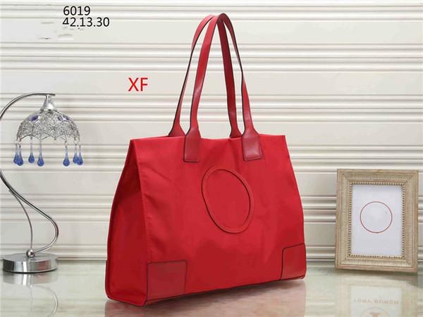 Women's Top-Handbag High quality T word Handbags Luxury oxford cloth Leather Tote Bag Brand High capacity Ladies Shoulder Bag free shipping