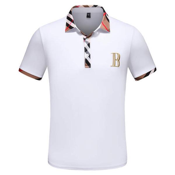 9999 italie Designer De Luxe Coton Polo Chemises Hommes High Street Mode Serpent Petite Abeille Impression polos Hommes desginer Marque Medusa Polo t-shirt