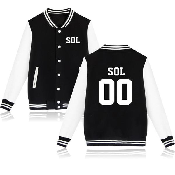 SO COOL Jackets BTS Kpop Baseball Jackets women/men Sweatshirt BTS Women Winter Hoodies Casual Fashion Jacket Clothes