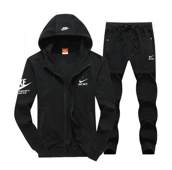 men's full zip tracksuit men sport suit cheap men sweatshirt and pant suit hoodie and pant set sweatsuit men