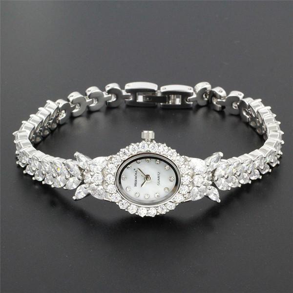 Perfect Womens Quartz Wristwatch Fashion Jewelry Watch For Lady Party Bracelet 8 Inches Hs0013w Y19051002