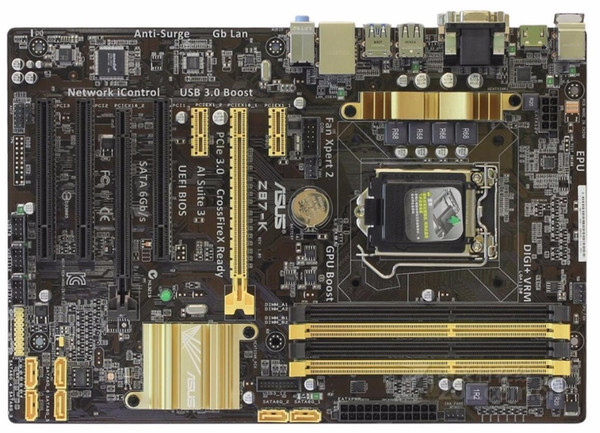Asus Z87-K Desktop Motherboard Z87 Sockel LGA 1150 i7 i5 i3 DDR3 32G SATA3 USB3.0 ATX-Mainboard