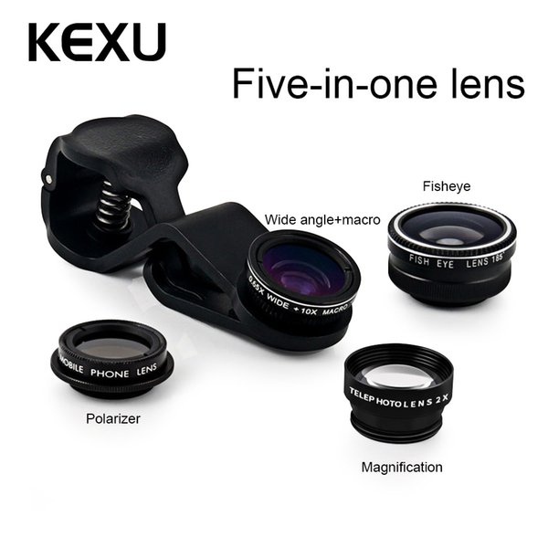wholesale Phone Lens Ulanzi 2in1 Cell Phone Camera Lens Kit 0.45x Wide Angle+12.5X Macro Lens for iPhone Samsung Android Smartphones