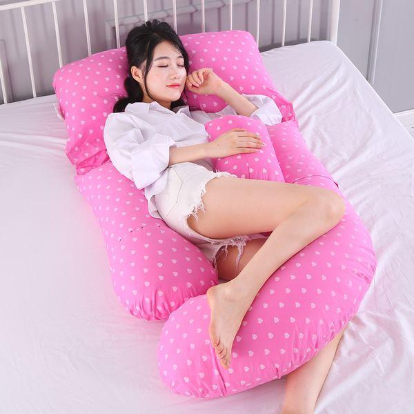 Multifunktions Mutterschaft Kissen gekämmte Baumwolle Side Sleeping Pillow kann Kissen getrennt werden Stillen